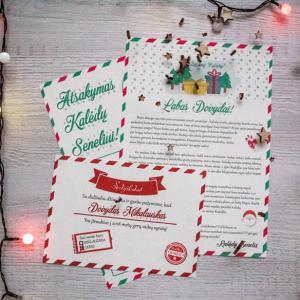 Tikras Kalėdų senelio laiškas